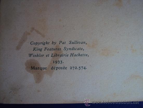 Cómics: (COM-173)CUENTO FELIX CHEZ LES SAUVAGES-ED.HACHETTE,AÑO 1949 - Foto 2 - 39110678