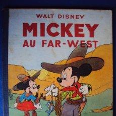 Cómics: (COM-175)CUENTO DE MICKEY,AU FAR-WEST,HACHETTE,EN FRANCES 3ER.TRIMESTRE 1950. Lote 39110861