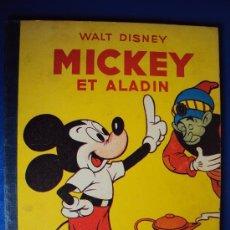 Cómics: (COM-177)CUENTO DE MICKEY,ET ALADIN,HACHETTE,EN FRANCES 4º.TRIMESTRE 1953. Lote 39111023