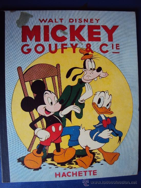 (COM-179)CUENTO DE MICKEYGOUFY & CIE,HACHETTE,EN FRANCES4º.TRIMESTRE 1951 (Tebeos y Comics - Comics Lengua Extranjera - Comics Europeos)