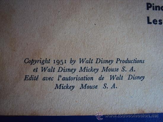Cómics: (COM-179)CUENTO DE MICKEYGOUFY & CIE,HACHETTE,EN FRANCES4º.TRIMESTRE 1951 - Foto 2 - 39111156