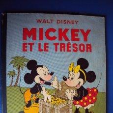 Cómics: (COM-180)CUENTO DE MICKEY,ET LE TRESOR,HACHETTE,EN FRANCES,2º.TRIMESTRE 1952. Lote 39111184