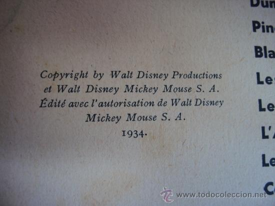 Cómics: (COM-180)CUENTO DE MICKEY,ET LE TRESOR,HACHETTE,EN FRANCES,2º.TRIMESTRE 1952 - Foto 2 - 39111184