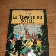 Cómics: LES AVENTURES DE TINTÍN - LE TEMPLE DU SOLEIL / FRANCÉS / HERGE / EDICIONES DEL PRADO (1977). Lote 39111775