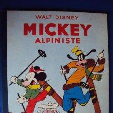 Cómics: (COM-182)CUENTO DE MICKEY ALPINISTE,HACHETTE,EN FRANCES,2º.TRIMESTRE 1954. Lote 39112663