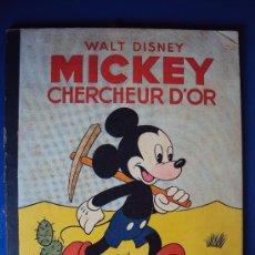 Cómics: (COM-183)CUENTO DE MICKEY CHERCHEUR D´OR,HACHETTE,EN FRANCES,2º.TRIMESTRE 1950. Lote 39112707