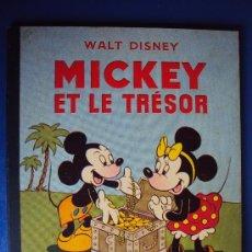 Cómics: (COM-185)CUENTO DE MICKEY,ET LE TRESOR,HACHETTE,EN FRANCES,2º.TRIMESTRE 1952. Lote 39112811