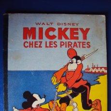 Cómics: (COM-186)CUENTO DE MICKEY,CHEZ LES PIRATES,HACHETTE,EN FRANCES,3ER..TRIMESTRE 1949. Lote 39112964
