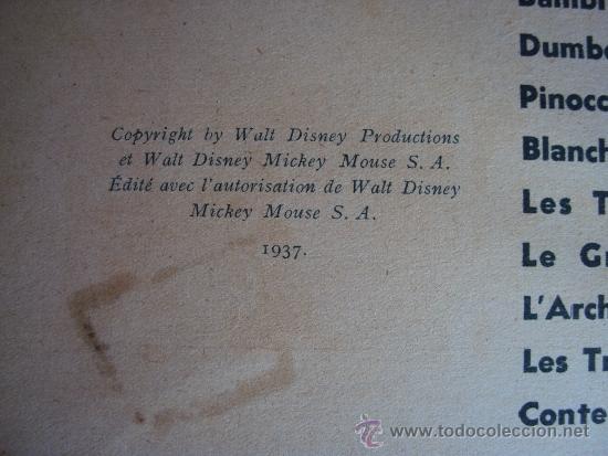 Cómics: (COM-186)CUENTO DE MICKEY,CHEZ LES PIRATES,HACHETTE,EN FRANCES,3er..TRIMESTRE 1949 - Foto 2 - 39112964