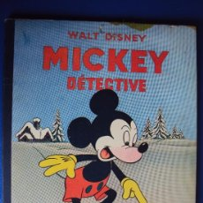 Cómics: (COM-187)CUENTO DE MICKEY,DETECTIVE,HACHETTE,EN FRANCES,2º.TRIMESTRE 1950. Lote 39112992