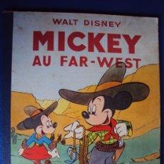 Cómics: (COM-188)CUENTO DE MICKEY,AU FAR-WEST,HACHETTE,EN FRANCES,3ER.TRIMESTRE 1950. Lote 39113029