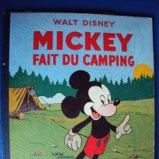 Cómics: (COM-189)CUENTO DE MICKEY,FAIT DU CAMPING,HACHETTE,EN FRANCES,4º.TRIMESTRE 1951. Lote 39113057