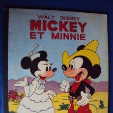Cómics: (COM-196)CUENTO DE MICKEY,ET MINNIE,HACHETTE,EN FRANCES,4º.TRIMESTRE 1950. Lote 39113248