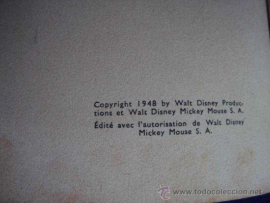 Cómics: (COM-197)CUENTO DE MICKEY,AVIATEUR,HACHETTE,EN FRANCES,2º.TRIMESTRE 1950 - Foto 2 - 39113268