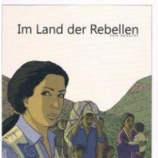 Cómics: 'IM LAND DER REBELLEN', DE ERIK BONGERS. ALBUM TAPA DURA. EN ALEMÁN. NUEVO SIN ESTRENAR. PAPEL O PDF. Lote 39303688