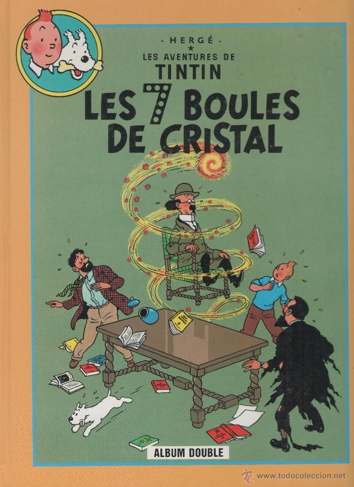 LES AVENTURES DE TINTIN - HERGÉ - LES 7 BOULES DE CRISTAL / LE TEMPLE DU SOLEIL - FRANCE LOISIRS - (Tebeos y Comics - Comics Lengua Extranjera - Comics Europeos)