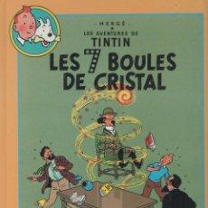 Cómics: LES AVENTURES DE TINTIN - HERGÉ - LES 7 BOULES DE CRISTAL / LE TEMPLE DU SOLEIL - FRANCE LOISIRS -. Lote 39895582