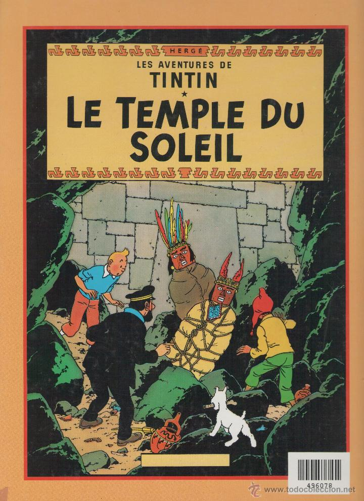 Cómics: LE TEMPLE DU SOLEIL - Foto 2 - 39895582