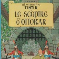 Cómics: LES AVENTURES DE TINTIN - HERGÉ - LE SCEPTRE D´OTTOKAR - CASTERMAN - 1975 - FRANCES . Lote 39896087