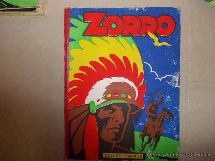 LOTE 5 TOMOS ZORRO Y ZIG ET PUGE-REVISTA FRANCO BELGA AÑOS 50- +100 NUMEROS-FOTOS (Tebeos y Comics - Comics Lengua Extranjera - Comics Europeos)