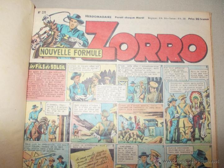 Cómics: LOTE 5 TOMOS ZORRO Y ZIG ET PUGE-REVISTA FRANCO BELGA AÑOS 50- +100 NUMEROS-FOTOS - Foto 5 - 40186489