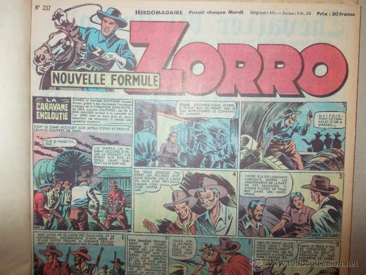 Cómics: LOTE 5 TOMOS ZORRO Y ZIG ET PUGE-REVISTA FRANCO BELGA AÑOS 50- +100 NUMEROS-FOTOS - Foto 7 - 40186489
