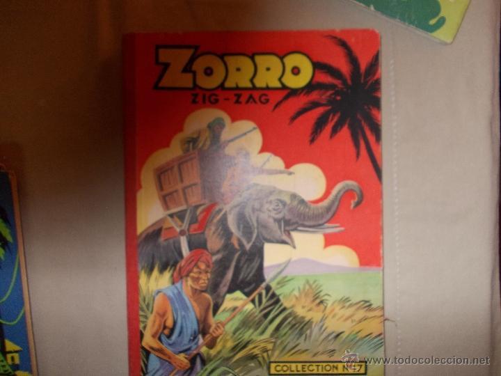 Cómics: LOTE 5 TOMOS ZORRO Y ZIG ET PUGE-REVISTA FRANCO BELGA AÑOS 50- +100 NUMEROS-FOTOS - Foto 8 - 40186489