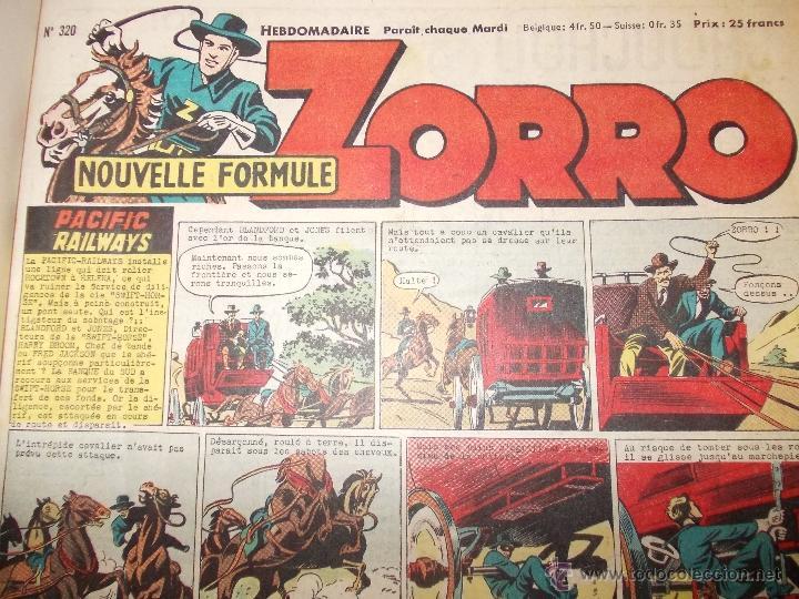 Cómics: LOTE 5 TOMOS ZORRO Y ZIG ET PUGE-REVISTA FRANCO BELGA AÑOS 50- +100 NUMEROS-FOTOS - Foto 9 - 40186489