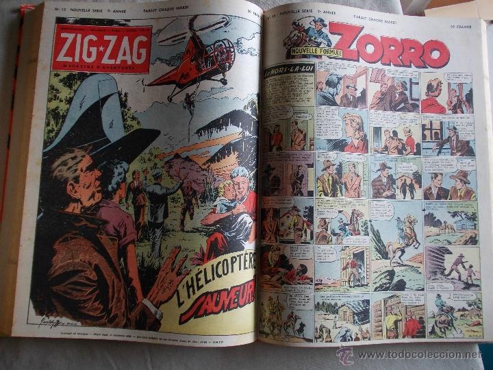 Cómics: LOTE 5 TOMOS ZORRO Y ZIG ET PUGE-REVISTA FRANCO BELGA AÑOS 50- +100 NUMEROS-FOTOS - Foto 15 - 40186489