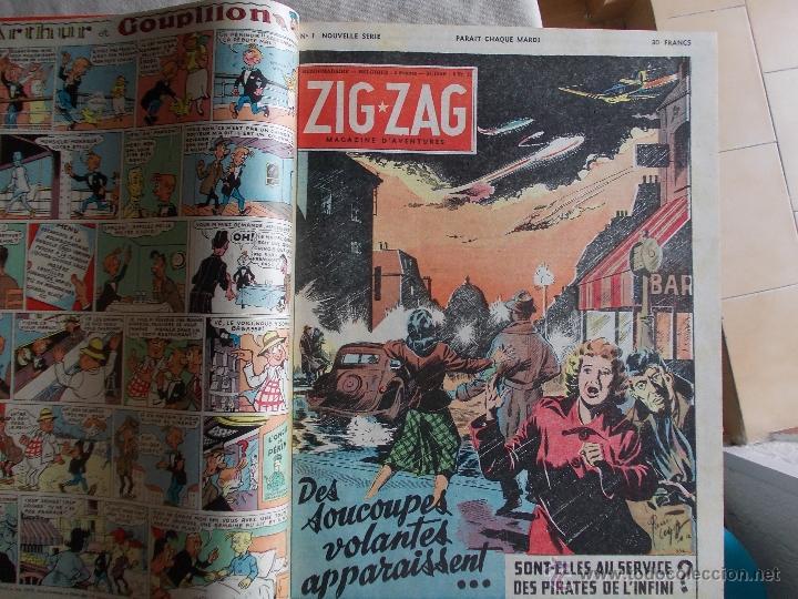 Cómics: LOTE 5 TOMOS ZORRO Y ZIG ET PUGE-REVISTA FRANCO BELGA AÑOS 50- +100 NUMEROS-FOTOS - Foto 16 - 40186489