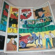 Cómics: BRICK BRADFORD - IL MOSTRO D'ACCIAIO - EDT. COMIC ART ITALIANA - COMPLETA - CREO NO EDITADA EN ESPA. Lote 40391299