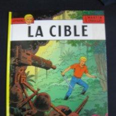 Cómics: LEFRANC.JACQUES MARTIN.G.CHAILLET. LA CIBLE. CASTERMAN 1989. Lote 40449507