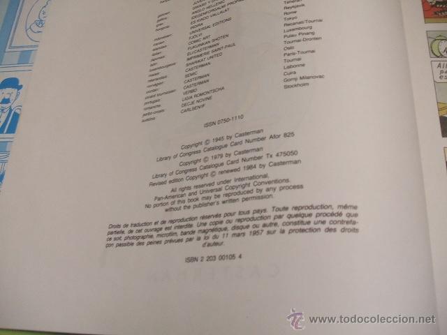Cómics: LES AVENTURES DE TINTIN - L'OREILLE CASSEE - CASTERMAN - EN FRANCES - - Foto 3 - 41111491