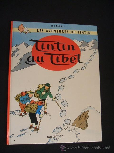 LES AVENTURES DE TINTIN - TINTIN AU TIBET - CASTERMAN - EN FRANCES - (Tebeos y Comics - Comics Lengua Extranjera - Comics Europeos)