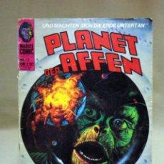 Cómics: COMIC, PLANET DER AFFEN, ALEMAN, MARVEL COMIC, 1976, Nº 12, EL PLANETA DE LOS SIMIOS. Lote 41115883