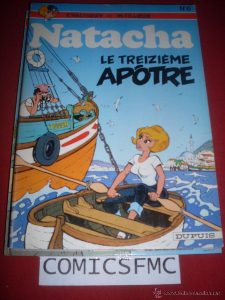 DUPUIS - NATACHA NUMERO 6 - EDICION DE 1978 (Tebeos y Comics - Comics Lengua Extranjera - Comics Europeos)