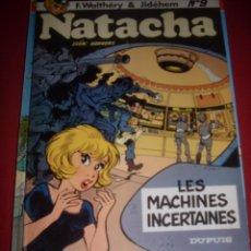 Cómics: DUPUIS - NATACHA NUMERO 9 - EDICION DE 1983. Lote 41540769