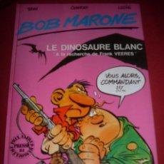 Cómics: GLENAT - BOB MARONE - LE DINOSAURE BLANC -1. Lote 41551010