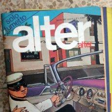Cómics: ALTER ALTER , ITALIA , EN ITALIANO , COMIC Nº 8 , 1981 , ORIGINAL. Lote 41571734