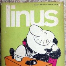 Cómics: LINUS , ITALIA , EN ITALIANO , COMIC Nº 54 , 1969 , ORIGINAL. Lote 41571781