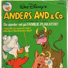 Cómics: WALT DISNEY'S Nº 38. ANDERS AND & Cº. 15 SEPTEMBER 1980.. Lote 41686126