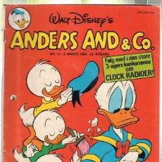Cómics: WALT DISNEY'S Nº 10. ANDERS AND & Cº. 3 MARTS 1980.. Lote 41686225