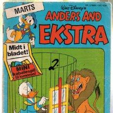 Cómics: WALT DISNEY'S Nº 3 - 1980. ANDERS AND EKSTRA.. Lote 41686324
