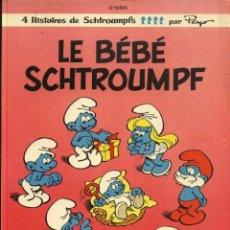 Cómics: LES SCHTROUMPFS - 12º SERIE - PEYO (ESCRITO EN FRANCÉS) LOS PITUFOS. Lote 41686617