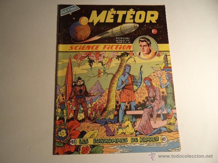METEOR. Nº 66. ARTIMA 1957 (FRANCÉS) (Tebeos y Comics - Comics Lengua Extranjera - Comics Europeos)