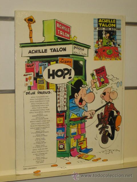 Cómics: ACHILLE TALON - AGGRAVE SON CAS - DARGAUD (EN FRANCÉS) OCASION - Foto 4 - 42158465