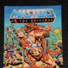 Cómics: MINI COMIC - MASTERS DEL UNIVERSO - 1985 - 4 IDIOMAS ITALIANO-FRANCES-INGLES-ALEMAN. Lote 42619607