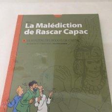 Cómics: TINTIN - LA MALEDICTION DE RASCAR CAPAC 1. LES 7 BOULES DE CRISTAL (FRANCÉS). Lote 131975727