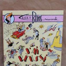 Cómics: CLEET BORIS RACONTE: J´AI RÉUSSI - MAGIC STRIP - EN FRANCÉS - CARTONÉ - GRAN FORMATO - COMO NUEVO. Lote 43172698