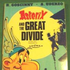 Cómics: COMIC ASTERIX AND THE GREAT DIVIDE INGLES TAPAS BLANDAS ORIGINAL UK. Lote 43344035